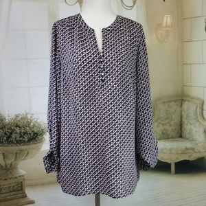 Laundry Laundry By Shell Tunic Top Size M